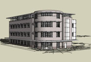 3-D Architectural Rendering
